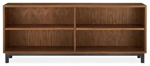 Copenhagen Console Bookcases - Walnut - Room & Board