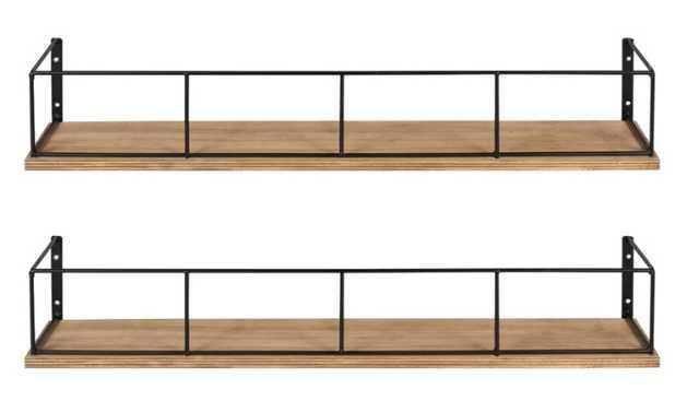 Premont 2 Piece Floating Shelf Set - Birch Lane