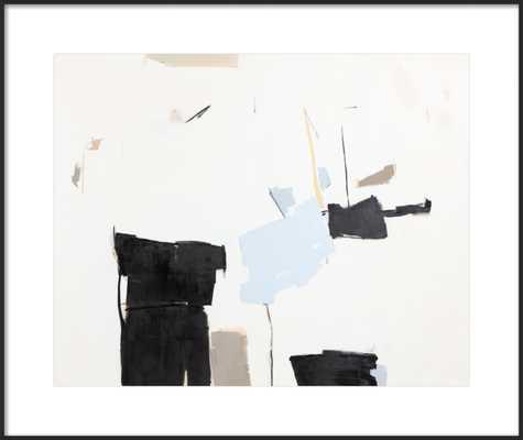 Blanc et Bleu, 29x24 - Artfully Walls