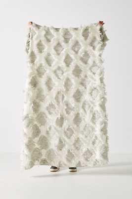 Textured Augusta Throw Blanket - Anthropologie