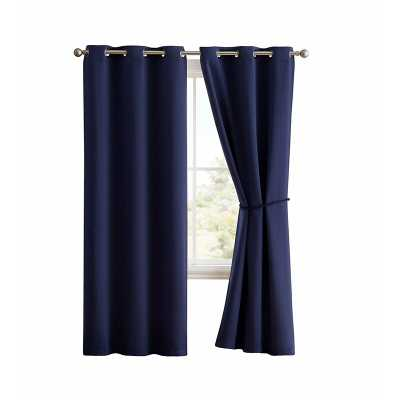 Brodbeck Solid Blackout Thermal Grommet Single Curtain Panel - Wayfair