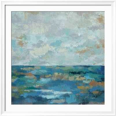 "SEASCAPE SKETCHES I, Frame art print 40""x 40"" - art.com"