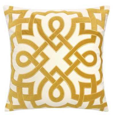 Mcnair Applique Cotton Throw Pillow - Wayfair