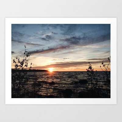Sunset at Awenda Art Print - Society6