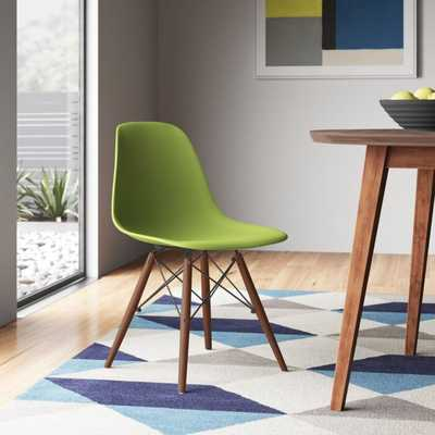 Corby Solid Wood Dining Chair, green - AllModern