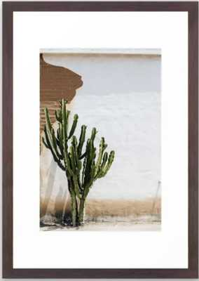 "California Cactus Framed Art Print - Conservation Walnut Small 15"" X 21"""" by Amandasuttonphotography - Society6"