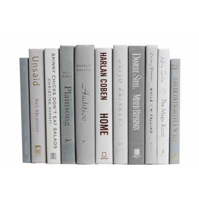 Authentic Decorative Books - By Color Modern Marble ColorPak - Wayfair