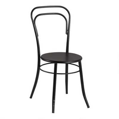 Black Metal Darcy Cafe Dining Chair Set Of 2 - World Market/Cost Plus