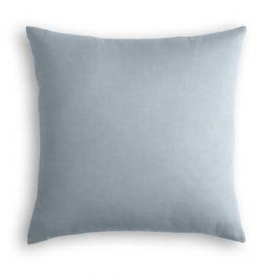 Dusk Classic Linen Throw Pillow - Linen & Seam