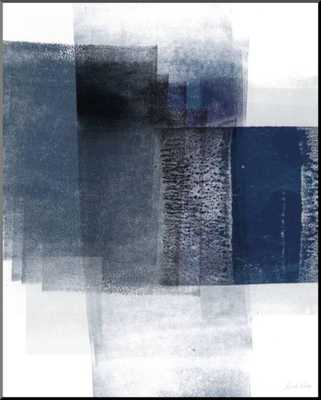 Blue Abstract II By Linda Woods - art.com