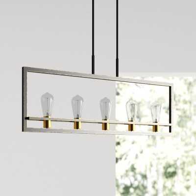 Celine 5-Light Rectangular Chandelier - Wayfair