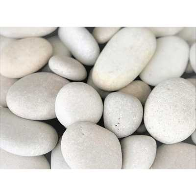 0.25 cu. ft. 1 in. to 2 in. 20 lbs. Caribbean Beach Pebbles - Home Depot