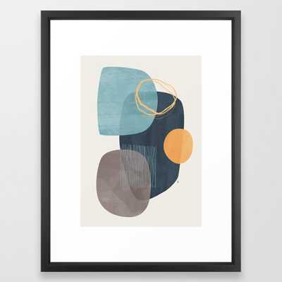 "Nova Framed Art Print 20 x 26"" scoop black - Society6"