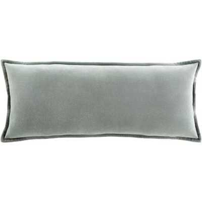 "Gabrielle Pillow Cover, 12""x 30"", Seafoam - Roam Common"