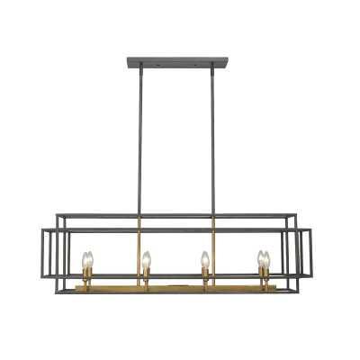 Bedingfield 8 - Light Kitchen Island Linear Pendant - Wayfair
