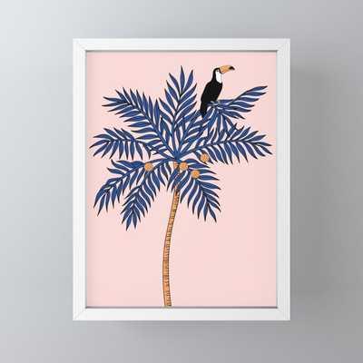 Pink Mood Framed Mini Art Print - Society6