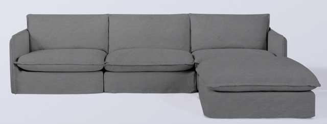 Neva Modular Chaise Sectional - Sixpenny