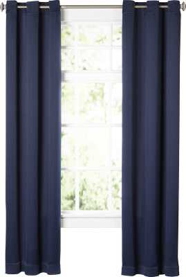 "Wayfair Basics Solid Blackout Grommet Single Curtain Panel 95"" - Wayfair"