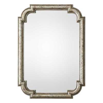 Calanna Antique Silver Mirror - Hudsonhill Foundry