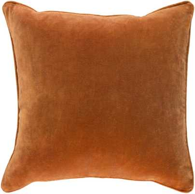 Claude Pillow Cover - Rust - Studio Marcette