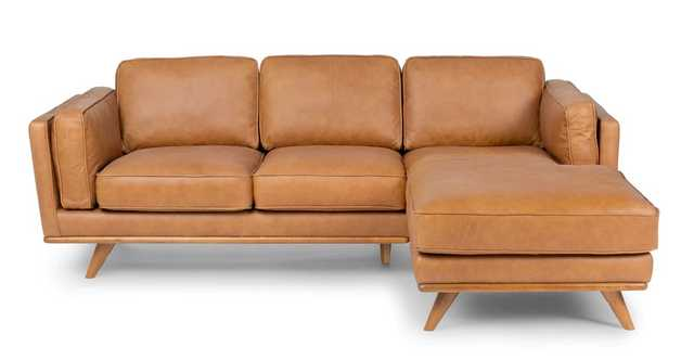 Timber Charme Tan Right Sectional - Article