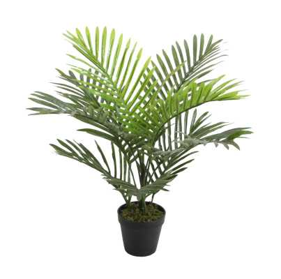 Faux Floor Palm Plant in Pot - Wayfair