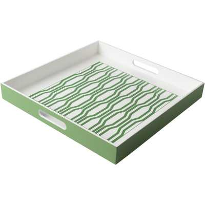 Coffee Table Tray - mercer41, green - Wayfair