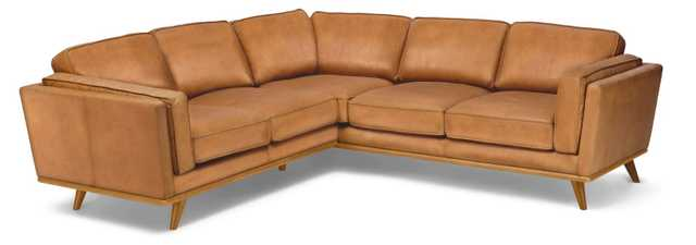 Timber Charme Tan Corner Sectional - Article