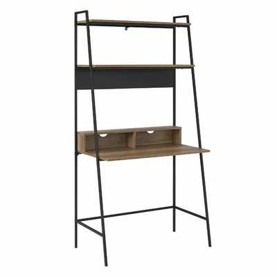 Pettit Metal and Wood Ladder Desk - AllModern