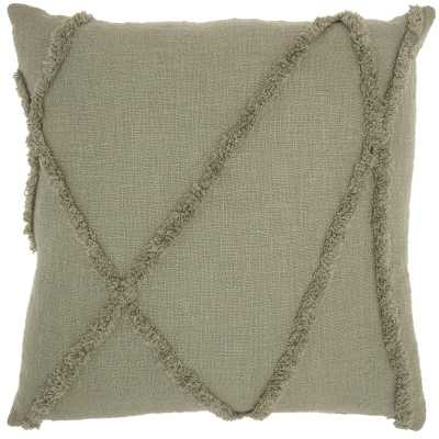 Remi Abstract Square Cotton Pillow Cover & Insert - Wayfair