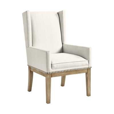 Ballard Designs Marlene Dining Chair with Brass Nailheads - Ballard Designs