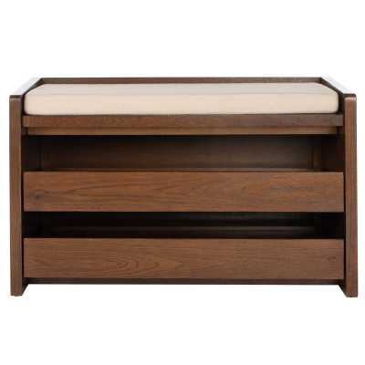 Byron Wood Storage Bench - AllModern