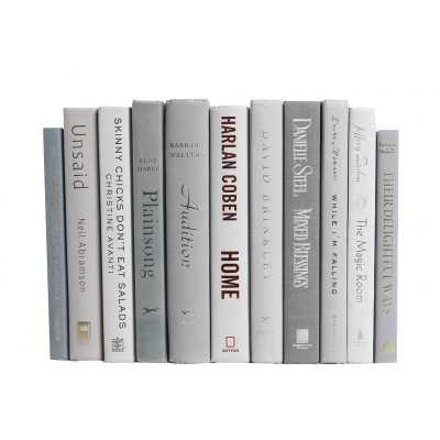 Authentic Decorative Books - By Color Modern Marble ColorPak (1 Linear Foot, 10-12 Books) - Wayfair