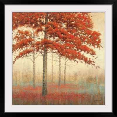 'Autumn Trees II' by James Wiens Painting Print - Wayfair