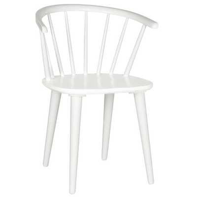 Spindle Solid Wood Windsor Back Arm Chair (Set of 2) - Wayfair