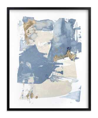 On the Rocks No. 2, 16 x 20 Black Frame - Minted