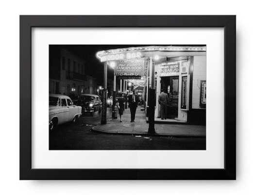 1962: New Orleans' Door Bar in the city's Vieux Carre quarter. (Photo by Evans/Three Lions/Getty Images) - Photos.com by Getty Images
