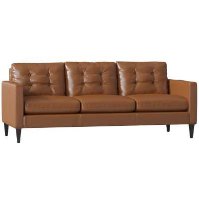 Goodyear Leather Sofa - Wayfair