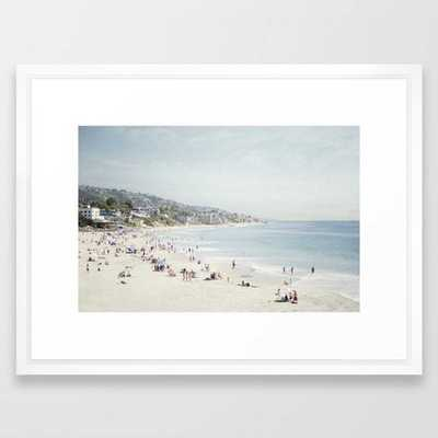 Laguna Beach Framed Art Print - Society6