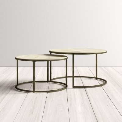 Dearborn 2 Piece Coffee Table Set - AllModern