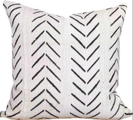 Newfolden Arrow Chevron Print Cotton Pillow Cover - AllModern