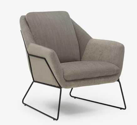 Ivo (Charcoal) Accent Chair - Joybird
