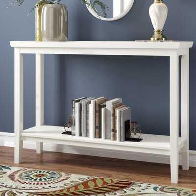 Gwen Console Table, White - Wayfair