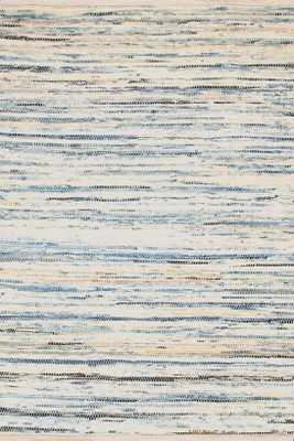 Denim Rag Woven Cotton Rug - 9'x12' - Dash and Albert