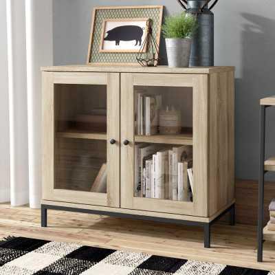 Ermont 2 Door Display Cabinet - Wayfair