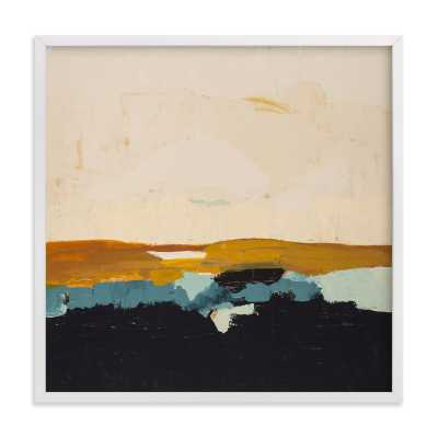 Yellow Seascape - Minted