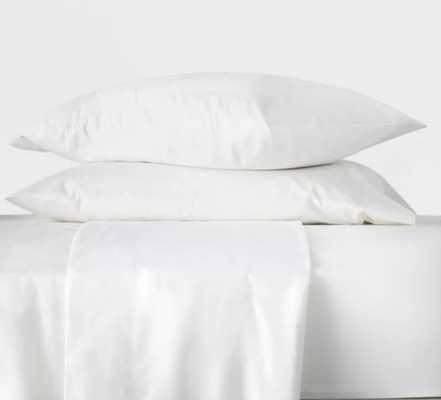 Washed Supima Percale Solid Sheet Set - Casaluna™ - Target