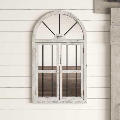 Reynolds Window Wood Wall Mirror - Wayfair