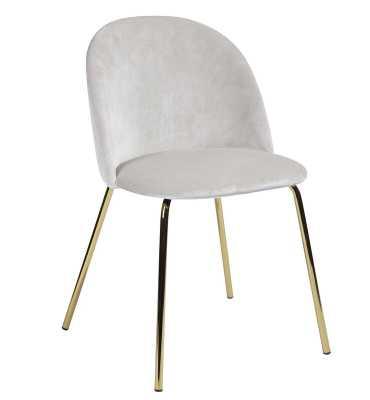 Darvin Velvet Upholstered Side Chair (Set of 2) - Wayfair