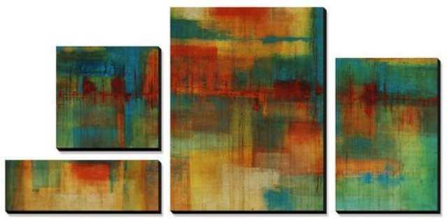City Spectrum Canvas Art Set - art.com